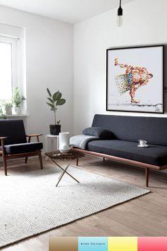 Innenausstattung, Innenraum, Klare Linien, Wohnzimmer Ideen, Haus Wohnzimmer,  Minimalistische Wohnzimmer,