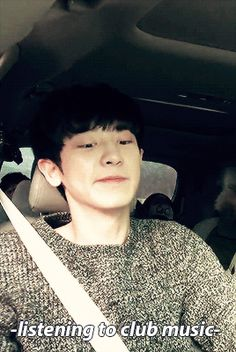 When Chanyeol listens to music | LINE TV - SurpLINEs EXO