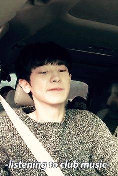 When Chanyeol listens to music | LINE TV - SurpLINEs EXO