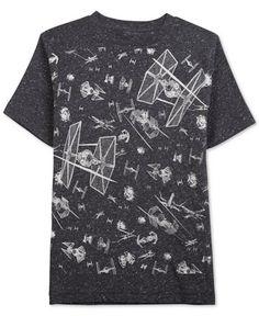 star wars boys' forming star starfighters t-shirt.