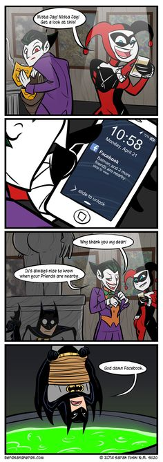 Batman Nearby Frenemies Comic http://geekxgirls.com/article.php?ID=2554
