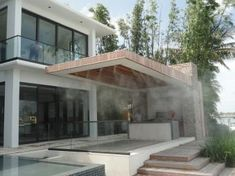 Residential Outdoor Mist Cooling Fans and Systems – The Misting Stoe