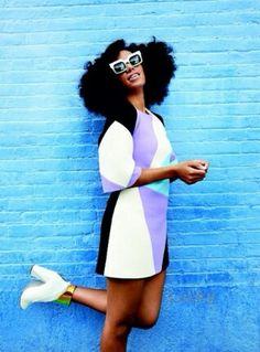 Solange for Lucky Magazine