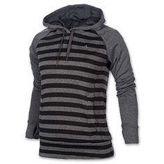 Adidas Ultimate Fleece Striped Hoodie.