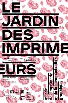 Le jardin des imprimeurs on Behance