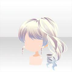 Peinado//una coleta al lado