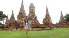 Wat Chai Wattanaram ruine. Thailand, Ayutthaya- Travelhype