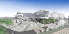 University Architecture, Museum Architecture, Cultural Architecture, Architecture Plan, Architecture Concept Diagram, Architecture Presentation Board, Mall Design, Building Images, Archi Design