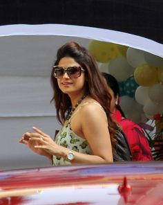 Shamita Shetty at Shilpa Shetty's son Viaan's 2nd birthday.