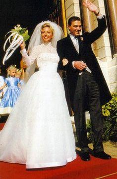 31.10.1998 : Mariage du prince Charles de Bourbon-Deux-Siciles, duc de Calabre et de Camilla Crociani
