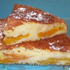 Légèreté  Gourmandises: Gateau rustique à l'abricot (4 PP)