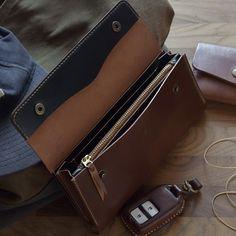 #leathergoods #shellcordovan #shellcordovanwallet #horween #longwallet #wallet