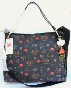Handbags-borsa-BRACCIALINI-scoiattolo-grigio-scuro-con-tracolla