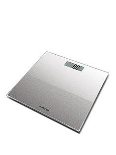 Salter Silver Glitter Electronic Personal Bathroom Scale in One Colour Electronic Kitchen Scales, Busy Life, Weight Management, Silver Glitter, One Color, Color Schemes, In This Moment, How To Plan, Electronics