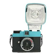 Pint-Sized Snaps | Lomography Diana Mini and Flash Camera, $99; lomography.com Travel Camera, Lomo Camera, Foto Fun, Forever Book, Shoot Film, Fujifilm Instax Mini, Film Photography, Tech Accessories, Best Gifts