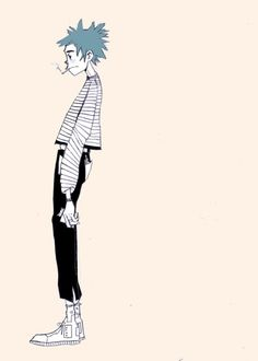 Discover recipes, home ideas, style inspiration and other ideas to try. 2d And Murdoc, Gorillaz Fan Art, Character Art, Character Design, Monkeys Band, Dope Art, Fanart, Cool Bands, Fan Girl