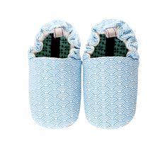 Blue Scales Mini Shoes