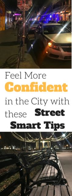 Feel More Confident in the City with These Street Smart Tips
