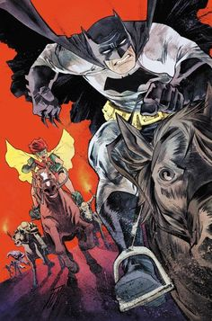 The Dark Knight III: The Master Race #1 variant cover by Francis Manapul *