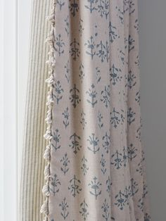 Inspired By A Traditional Indian Block Print Our Vibrant Yet Refined Marine Blue Linen Looks Beautiful As Curtains And Blinds Or Complementary Fabric