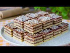 Pruhované řezy / Helenčino pečení - YouTube Cheesecake, Food And Drink, Health, Youtube, Treats, Sweet, Sweet Like Candy, Candy, Goodies
