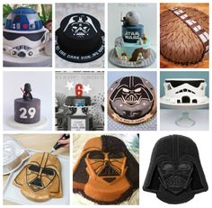 Star Wars Party Cake Ideas WonderBash