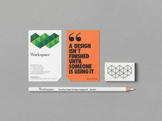 Workspace is an Interior design agency that focuses on creating working environments. Bond created Workspace's new visual identity including the logo, typography, colours and the website.