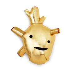 Plush heart of gold. Influence your kids to have one by making compassionate choices and by being generous, helpful, & by thinking globally.
