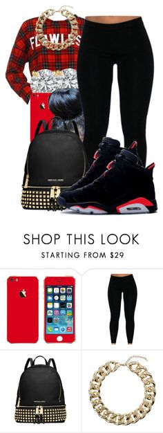 """""""Pleaz Follow @flawless-diamonds✌"""" by honey-cocaine1972 ❤ liked on Polyvore featuring MICHAEL Michael Kors and Topshop"""