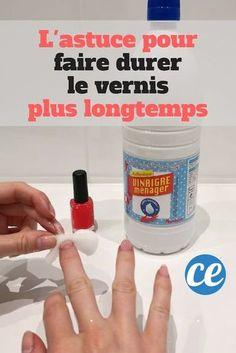 Vernis à Ongles : Le Truc Génial Pour Le Faire Tenir BEAUCOUP Plus Longtemps.