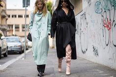 濃厚義大利浪漫風情的米蘭時裝周街拍