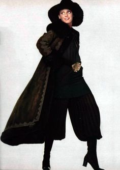 Saint Laurent. L'Officiel de la Mode 1970