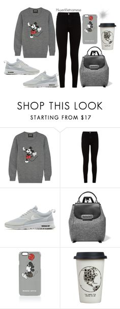 """Sans titre #120"" by huyenvietnamese ❤ liked on Polyvore featuring Markus Lupfer, 7 For All Mankind, NIKE, ZAC Zac Posen and Natural Life"