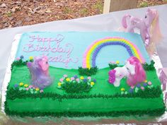 my little pony sheet cakes | Creative Cakes N More: My Little Pony Rainbow