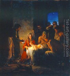 Carl Heinrich Bloch:The Birth of Christ