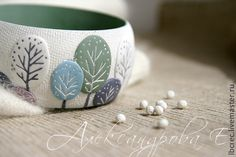 Polymer clay bangle. Yevgeny Alexandrov is how Google Translate interprets this…