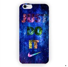 Nebula Purple Nike Just Do It Sport For iPhone 6 / 6 Plus Case