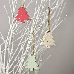 Christmas Tree Decorations - no longer available but cute idea