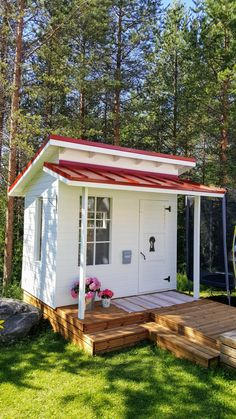 Backyard Sheds, Backyard Retreat, Backyard Patio, Cubby Houses, Play Houses, Summer Sheds, Casa Kids, Wendy House, Outdoor Baths