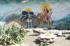 Chamunda Mantra - Om Aim Hrim Klim - Navarna Mantra or Chandi Mantra is a powerful mantra, that keeps the mind stable and focused. Hindu Mantras, Om, Spirituality, Mindfulness, Lyrics Meaning, Painting, Anxiety, Painting Art, Spiritual