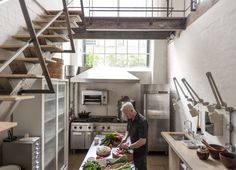 Alastair Hendy London Kitchen | Remodelista Above: Chef Alastair Hendy's London kitchen was designed over a decade ago but still feels modern; see more at Revolution Road: A Groundbreaking Kitchen in London.