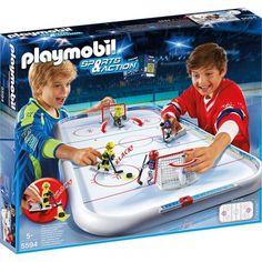 PLAYMOBIL Eishockey Arena für spannende Spiele im Wohnzimmer