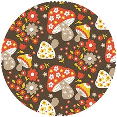 """Studio E, Scandi Mushroom Brown   Fabric is sold by the 1/2 Yard. For example, if you would like to purchase 1 Yard, you would enter 2 in the Qty. box at Checkout. Yardage is cut in one continuous piece.  Examples:  1/2 yard = 1 1 yard = 2 1 1/2 yards = 3 2 yards = 4   1/2 Yard Measures 18"""" x 44/45""""  Fiber Content: 100% Cotton  Hover over image for a larger, better view"""