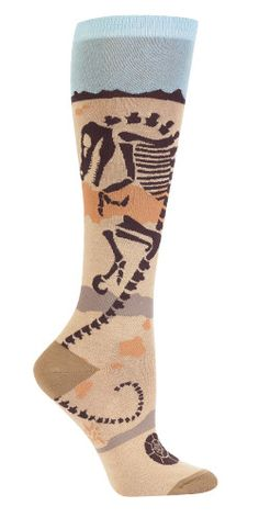 Paleo Party Knee High Socks from The Sock Drawer