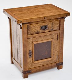 Rustic Craftsman End Table