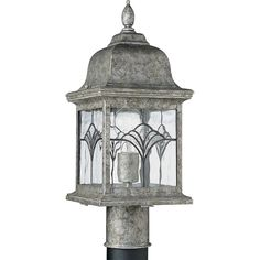 P5495-50 - Tiffany Collection Outdoor, in Golden Baroque finish by Progress Lighting from Progress Lighting Outlet - Authorized Progress Dealer