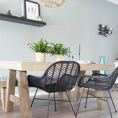 #kwantuminhuis Stoel TREVI > https://www.kwantum.nl/meubelen/stoelen/eetkamerstoelen @home_byme