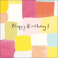 Cardmix Hello Happy Birthday Card 066565