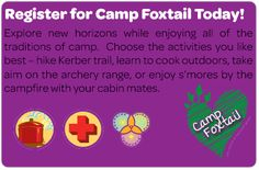 Work on your Get Moving journey at camp this summer! girlscoutsnv.org