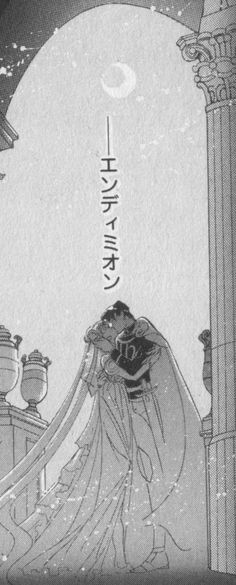"Princess Serenity & Prince Endymion from ""Sailor Moon"" series by manga artist Naoko Takeuchi."